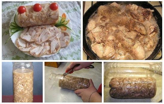 Как приготовить куриный рулет в домашних условиях с желатином